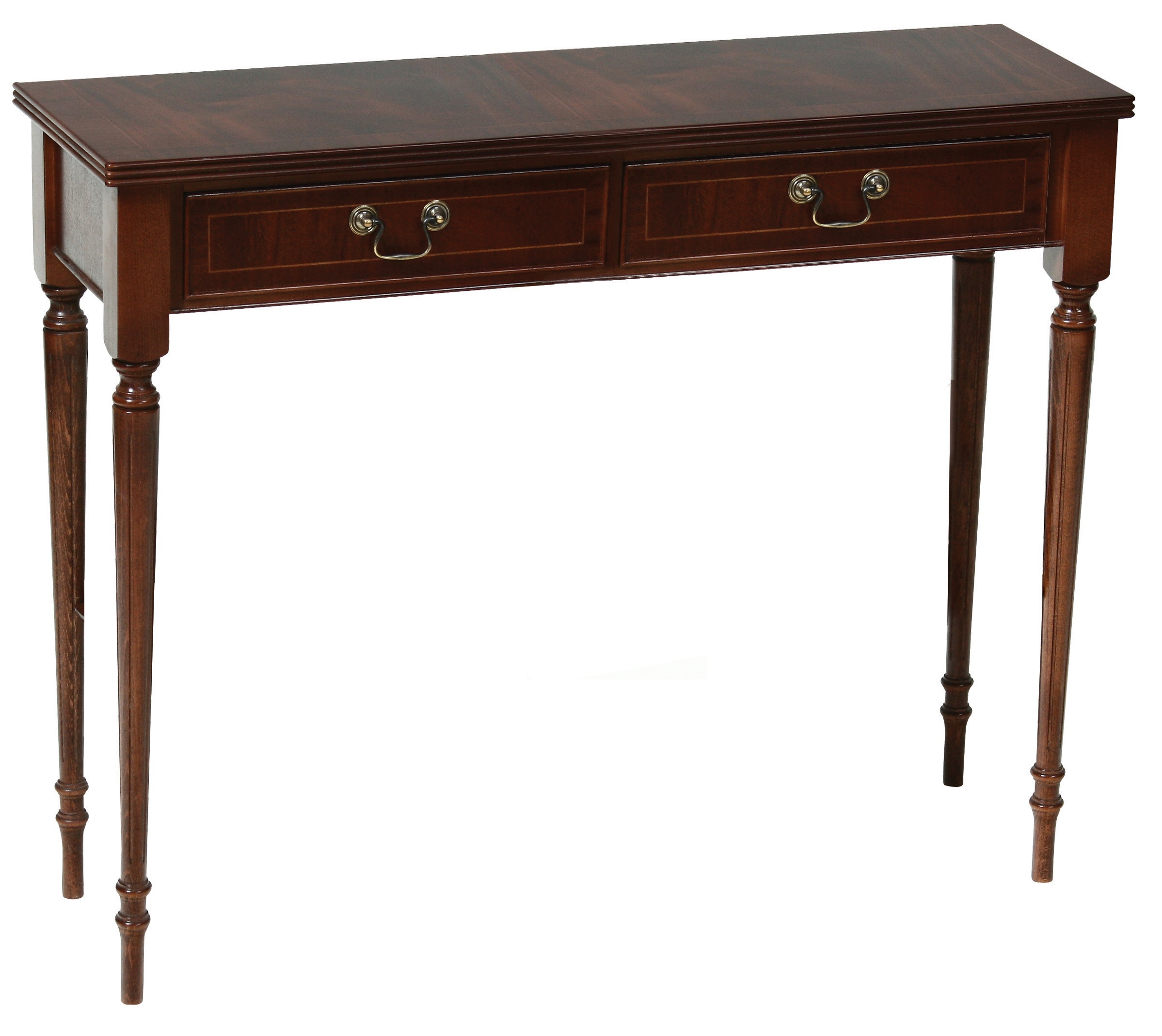 Regency narrow 2 drawer hall all products for Html table width