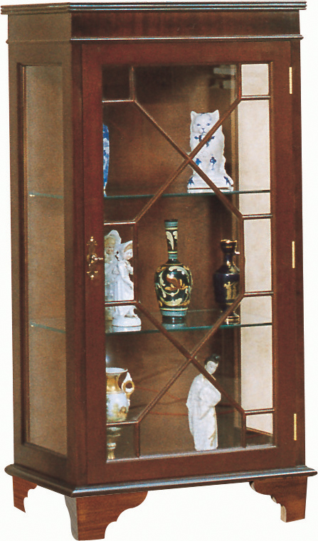 Queen Anne Display Cabinet