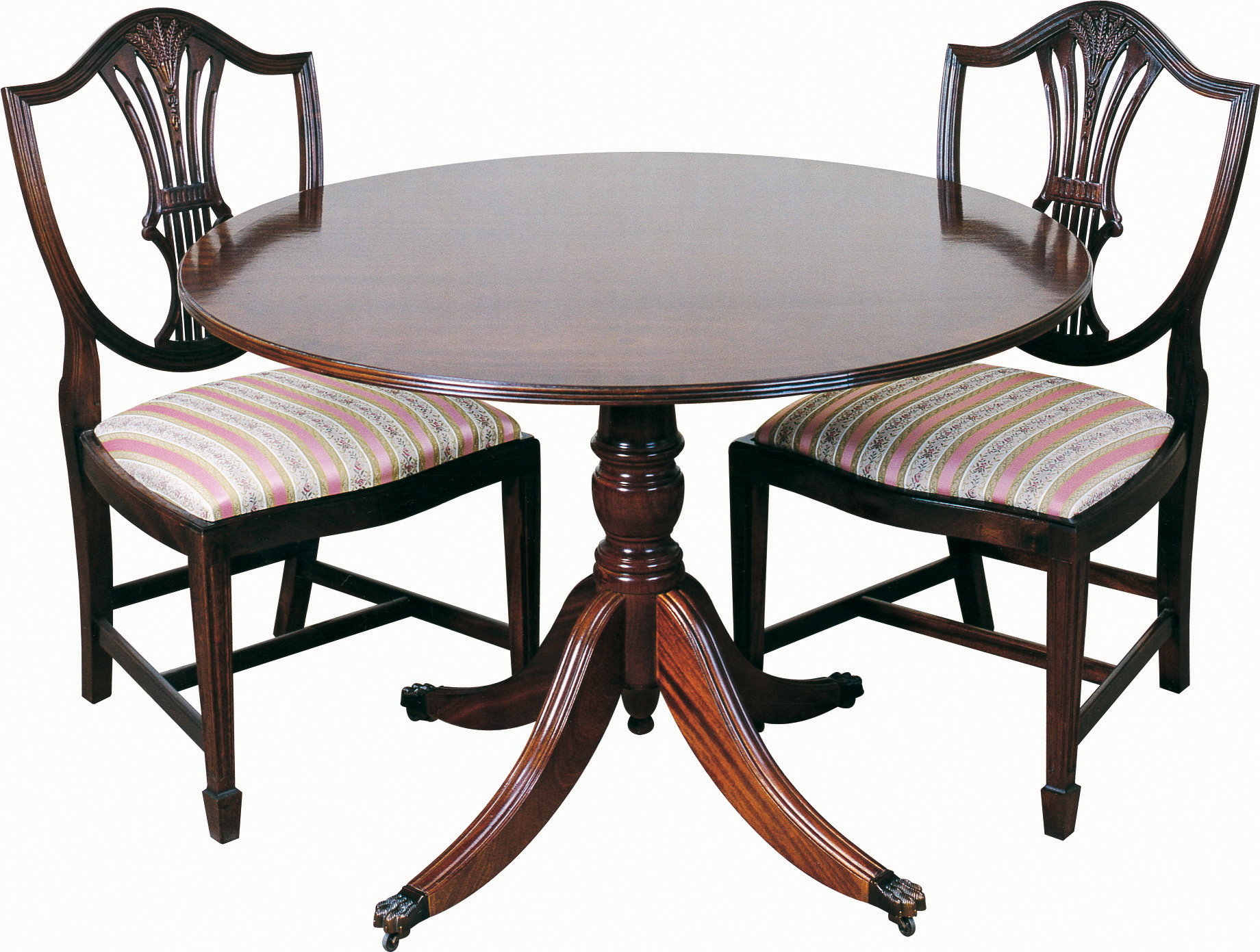 36 Diameter Table Period Style Reproduction