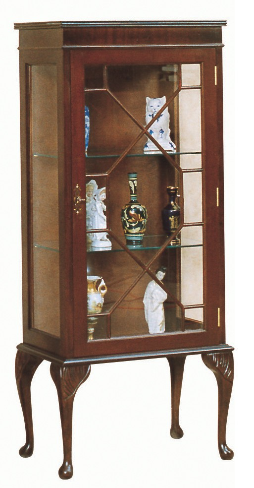 queen anne display cabinet display cabinets