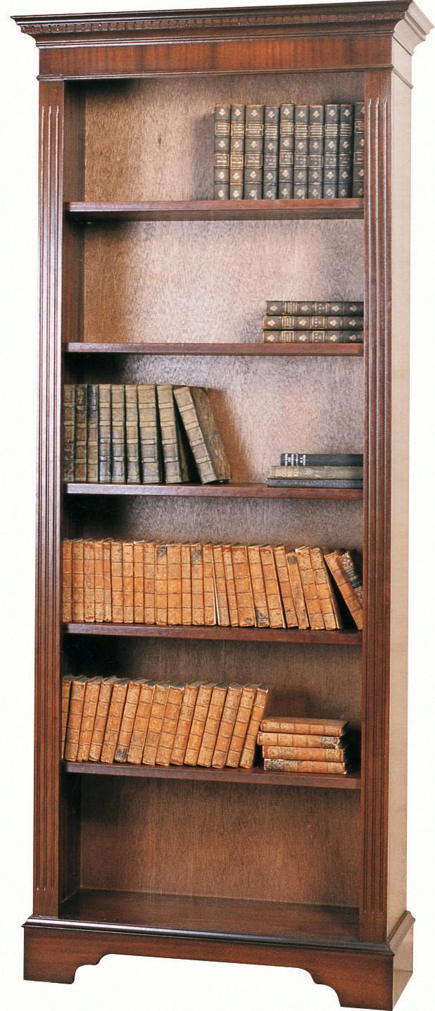 Narrow Open Book Shelves