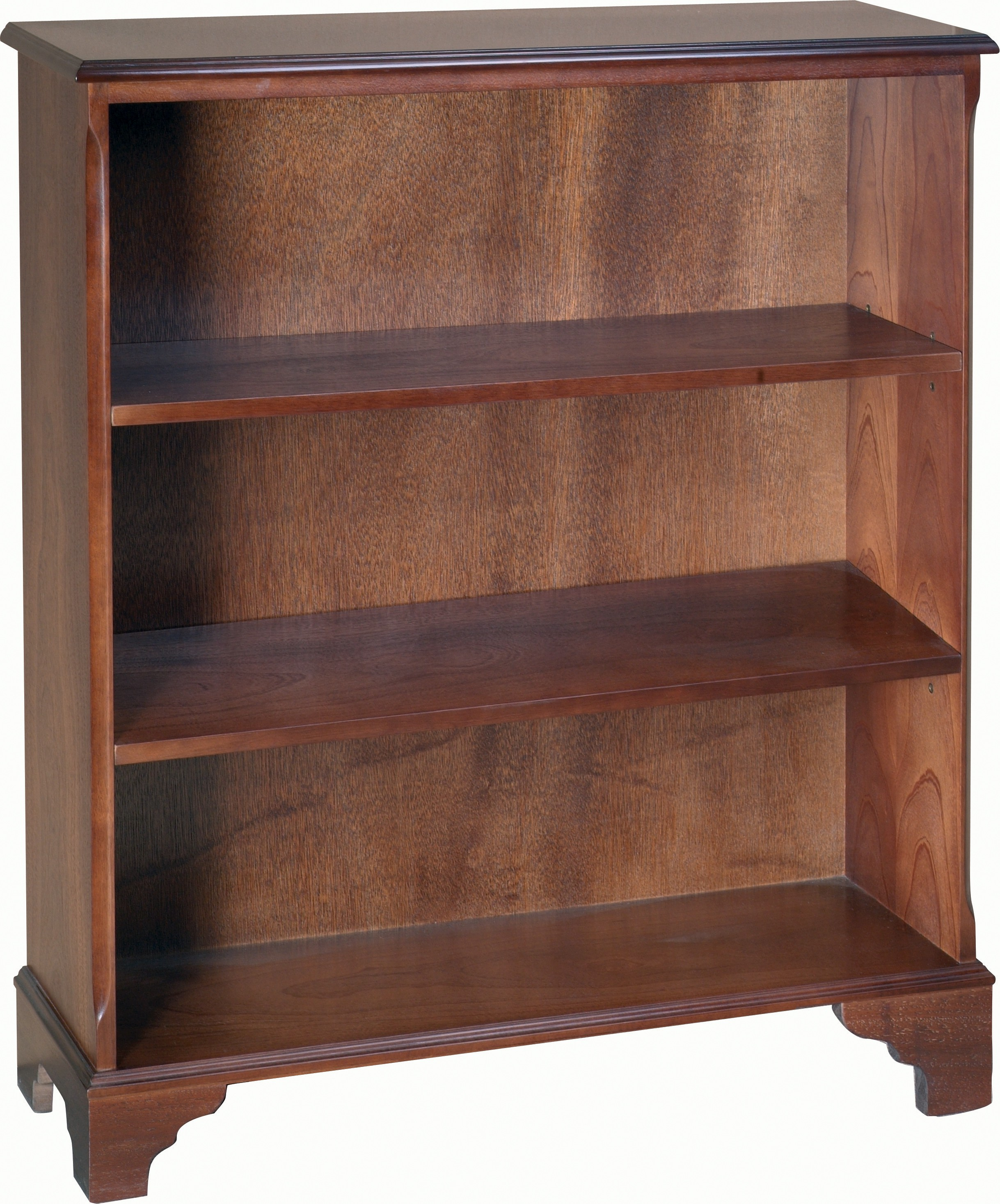 Wide Open Bookcase 2 Shelves