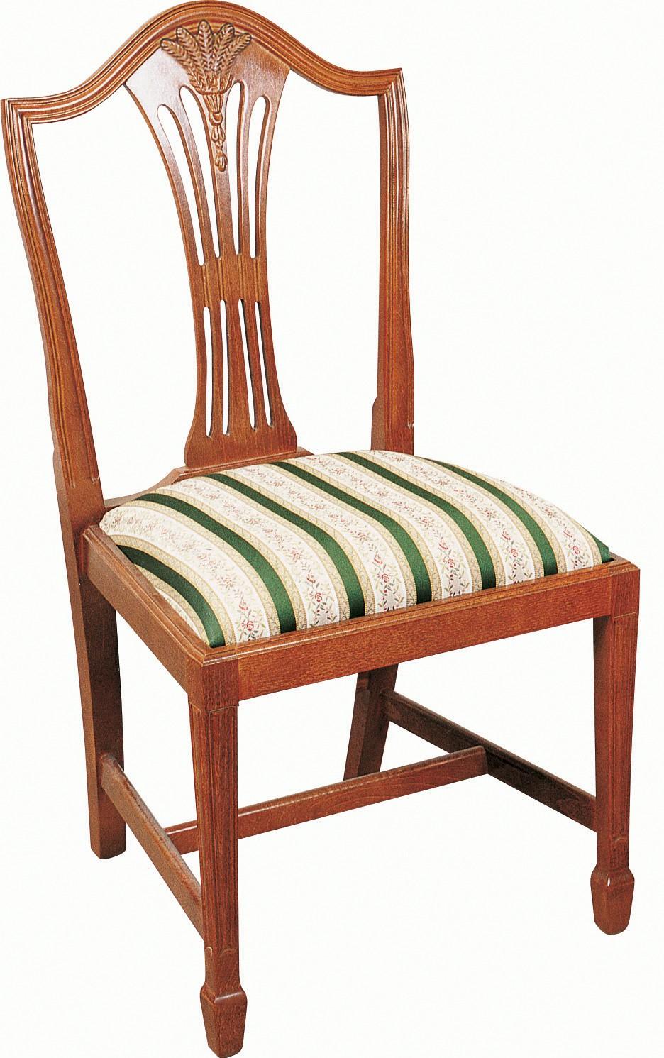 Genial Hepplewhite Wheatear Chair