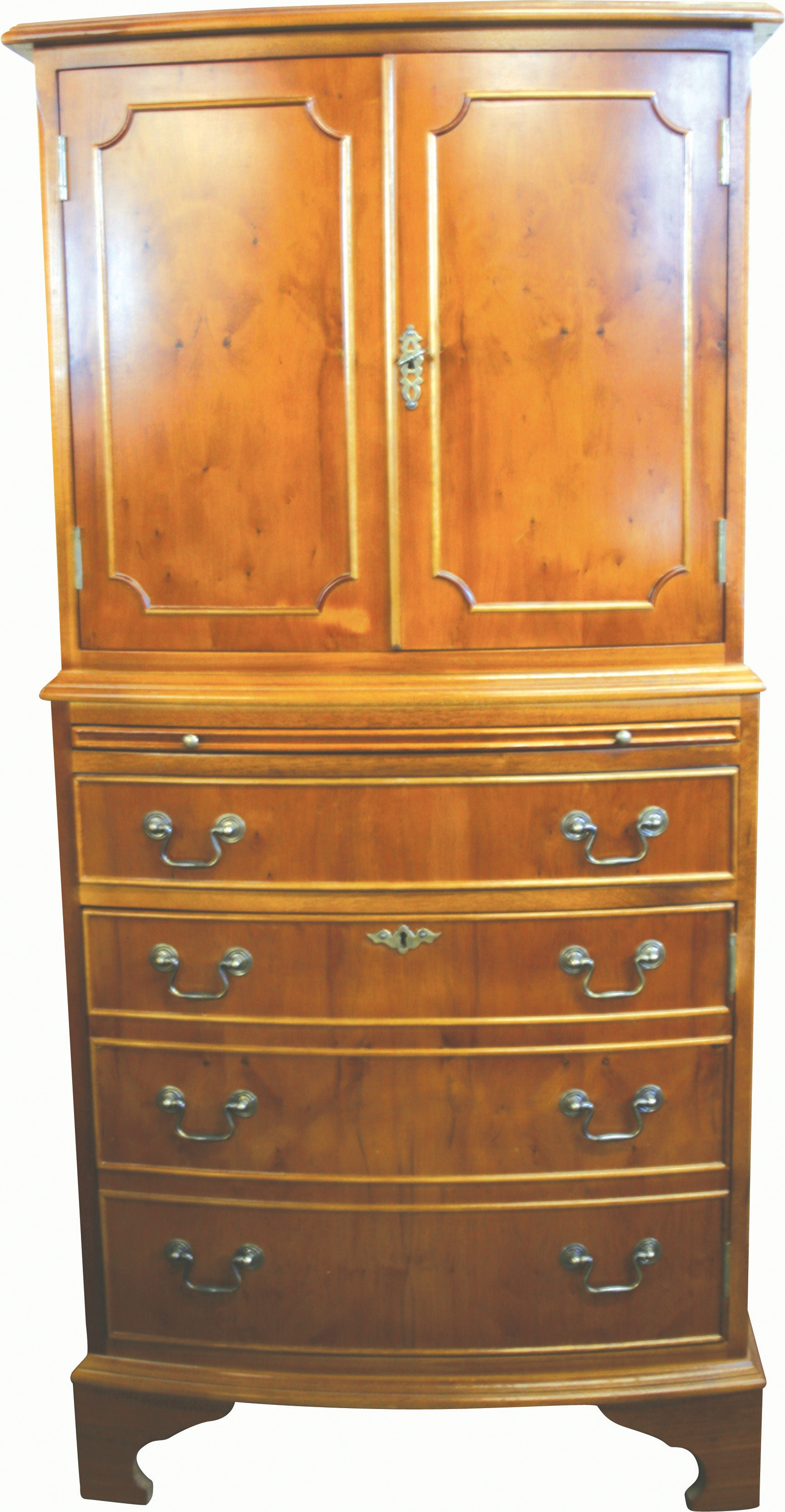Straight Front Wine Cabinet