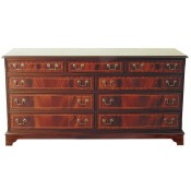 9 Drawer Inlaid Chest