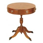 Drum Table 2 Drawer