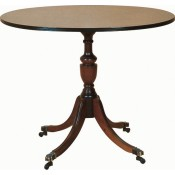 Oval Wine Table