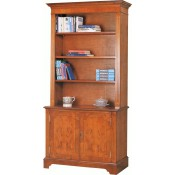 Open Book Shelves Cupboard