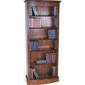Tall Narrow Bow Bookcase