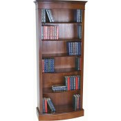 Tall Bow Bookcase