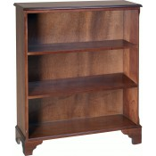 Large Open Bookcase 2 Shelves