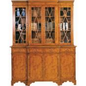 5' Breakfront Bookcase
