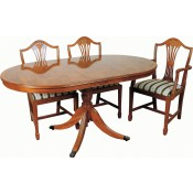 Centre Leaf Stowaway Table