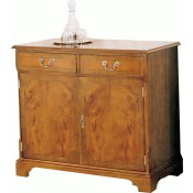 3' Flat Front Sideboard