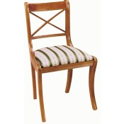 Regency Cross Stick Chair