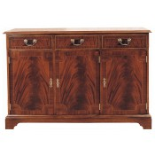 4' Flat Front Sideboard
