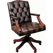 Gainsborough Leather Chair