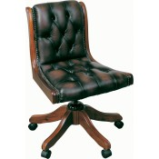 Typist Leather Chair