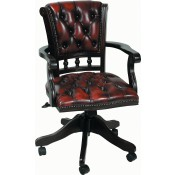 Leather Viscount Chair