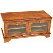 Double TV Stand Glass