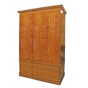 3 Door 6 Drawer Wardrobe