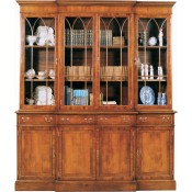 6' Georgian Bookcase