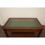 Hepplewhite Recangular Glass Table | Ex-Display
