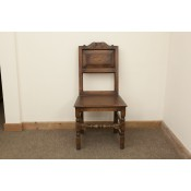 Solid Oak Chair - 2346S | Ex-Display